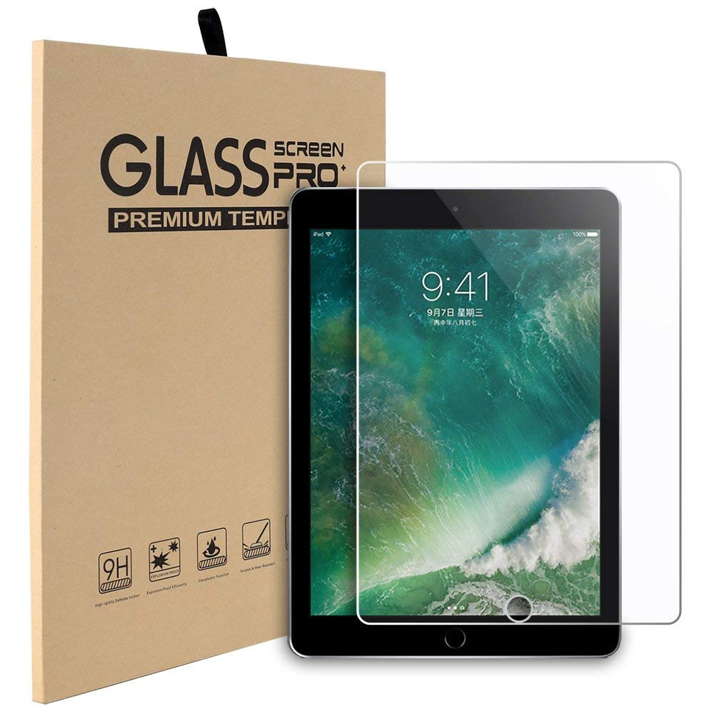 SP-03  Tempered Glass For Apple iPad 2 3 4 5 6 9.7 2017 2018 Pro 11 10.5